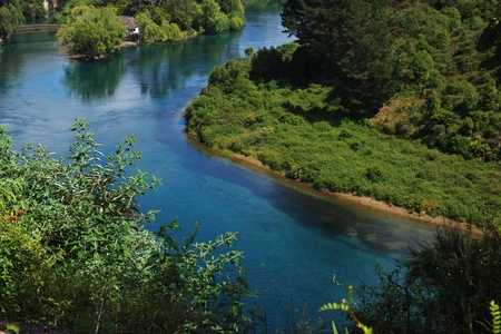 Clean Waikato river photo