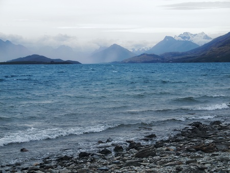 Wakatipu lake Stock Photo - 12917564