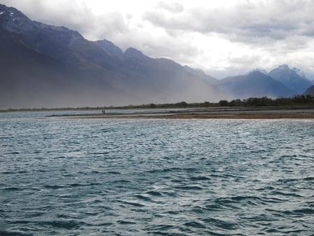 wakatipu: End of Wakatipu lake