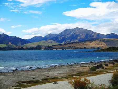 Wanaka lake photo