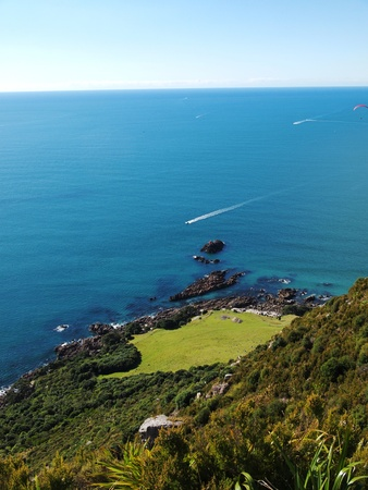 View from Mt Maunganui photo