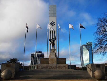 central square: Central square of Palmerston North Editorial