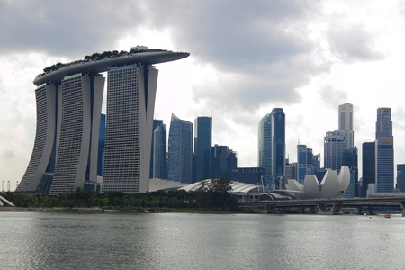 Central area of Singapore Stock Photo - 17146998