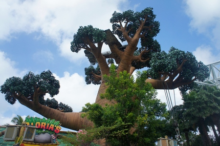 copied: A  tree copied from Madagascar Movies