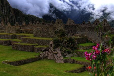 lower section: Machu Picchu - Lower Living Section