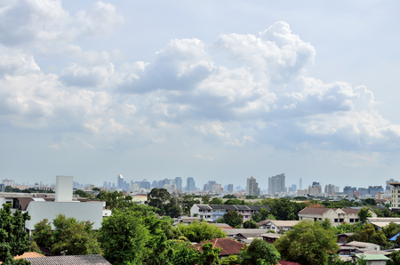 natural bridge state park: Far away from Bangkok city in midday light.