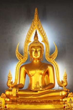Stone statue of a Buddha in Thailand Stock Photo - 14215316