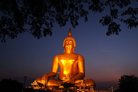 Big Buddha temple in Thailand  photo