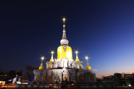 Phra That Na Dun in Thailand  Stock Photo - 14215306