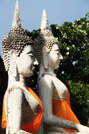 Stone statue of a Buddha in Thailand Stock Photo - 14215336