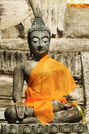 Stone statue of a Buddha in Thailand  Stock Photo - 14215341