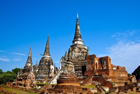 Wat-Phrasisanphet Ayutthaya in Thailand Stock Photo - 14215340