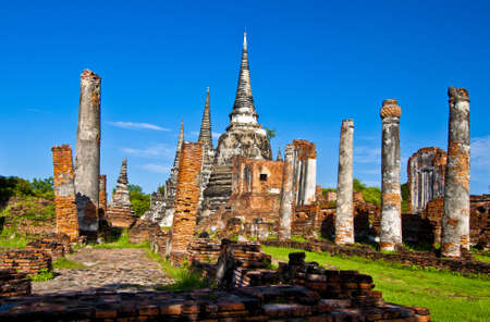 Wat-Phrasisanphet Ayutthaya in Thailand photo