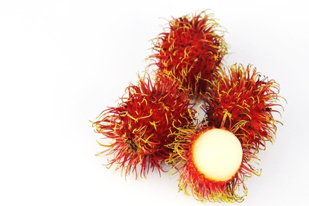 Fresh rambutan sweet delicious fruit of Thailand  Stock Photo