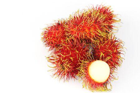 Fresh rambutan sweet delicious fruit of Thailand  photo