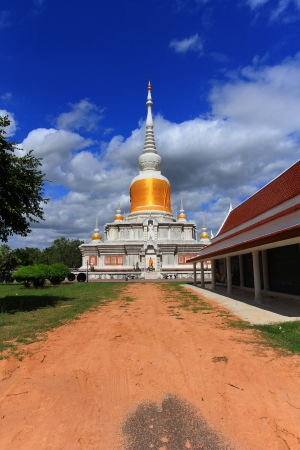 Phra That Na Dun at Mahasarakham in Thailand