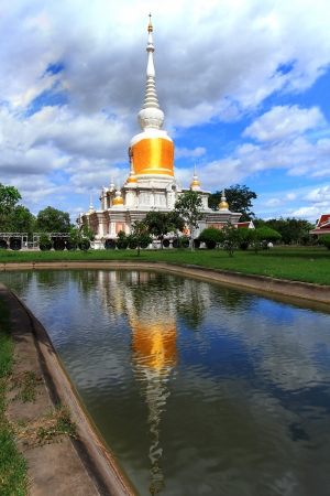dvaravati: Phra That Na Dun at Mahasarakham in Thailand