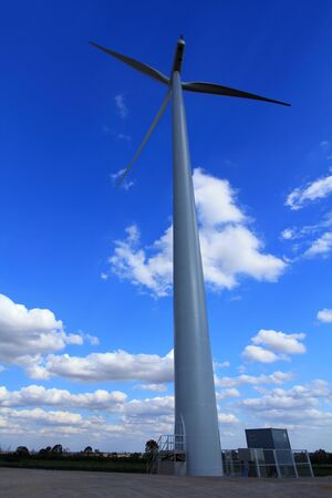 Wind Turbines with blue sky in Thailand  Stock Photo - 17211667