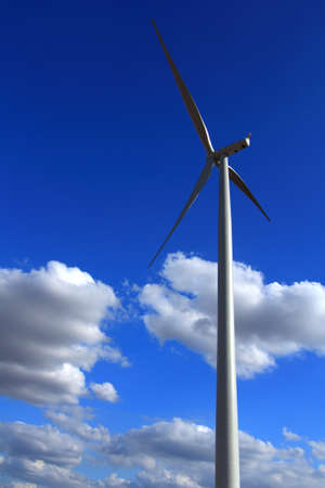 Wind Turbines with blue sky in Thailand Stock Photo - 17211625