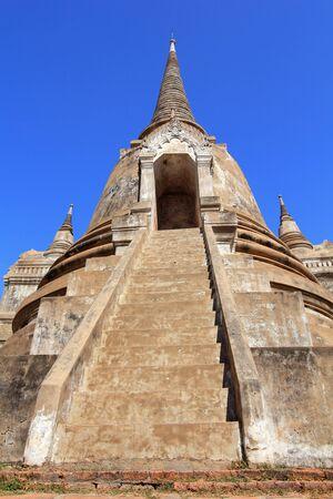 Temple ruins at Ayutthaya in Thailand[Wat Phra si sanphet] Stock Photo - 17468760