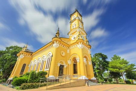 ayuttaya: Saint Joseph Church Christian  in Thailand  Stock Photo