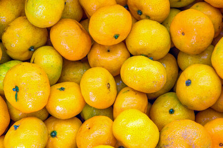 valencia orange: Background of many fresh raw orange