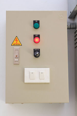 Industrial Electric control box photo