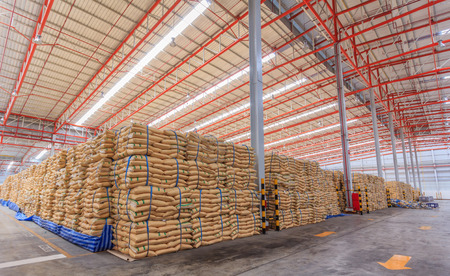 Sugar in Warehouse  Editorial