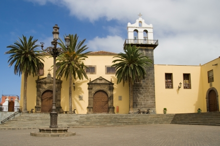 convent: Former convent of San Francisco in the main square of Garachico, Tenerife, Canary Islands