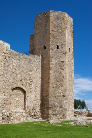 nuns: Tower of the Nuns in the old town of Tarragona, Spain