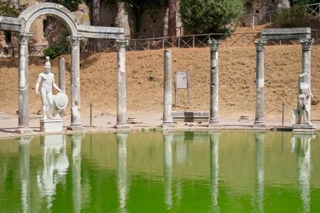 hadrian: Canopus in Hadrian Villa, Tivoli, Italy