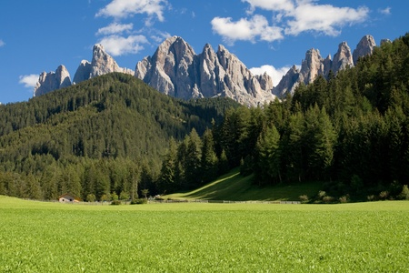odle: Geisler Gruppe from Villnoss Valley, South Tyrol, Italy