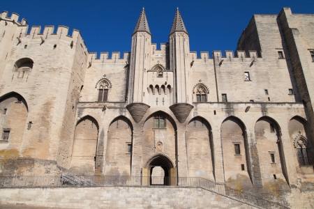 palais: Palais des Papes in Avignon, France