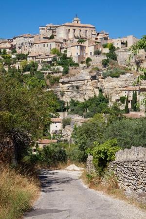gordes: Village of Gordes in Provence, France