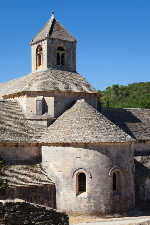 senanque: Church of the Senanque Abbey in Vaucluse, Provence, France