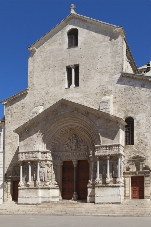 former: Church of Saint Trophime, former cathedral of Arles, France