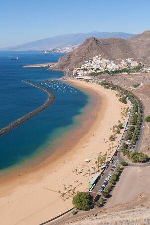 Teresitas beach in Santa Cruz de Tenerife, Canary Islands, Spain  photo