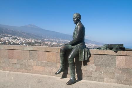 mirador: Mirador de Humboldt  Humboldt Viewpoint  in La Orotava, Tenerife, Spain