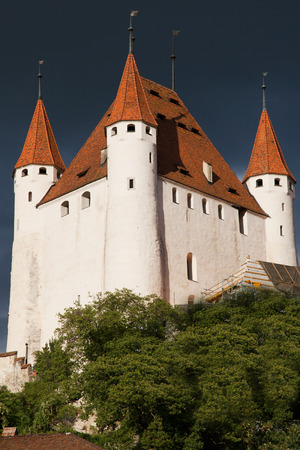 bernese oberland: Thun Castle in the Bernese Oberland, Switzerland