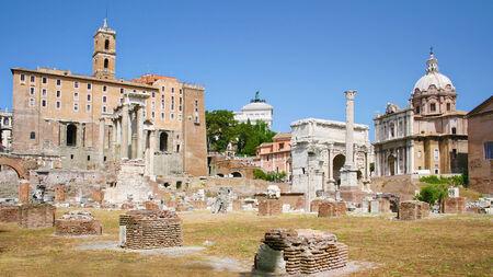 severus: Campidoglio and Roman Forum in Rome, Italy