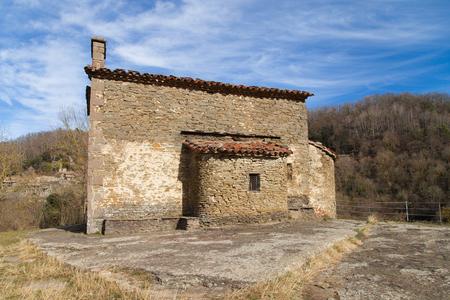 magdalena: Santa Magdalena chapel in Rupit, Catalonia