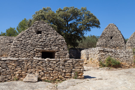luberon: Bories village in Gordes, Luberon Provence, France