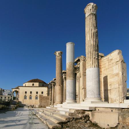 hadrian: Ruinas del Adriano