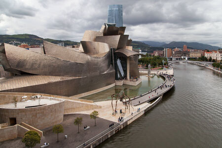 basque country: Museum Guggenheim in Bilbao, Basque Country. Editorial
