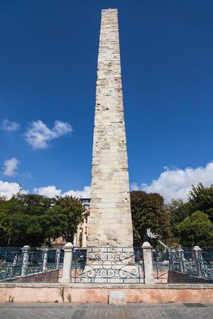 constantine: Constantine Obelisk in Sultanahmet Square, Istanbul, Turkey.