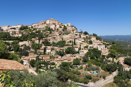bel air: Village of Gordes in the Luberon, Provence, France.