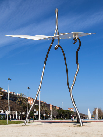 david and goliath: David i Goliat by Antoni Llena, Barcelona, Spain.