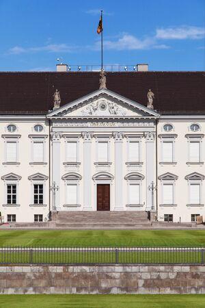 bellevue: Schloss Bellevue in Berlin, Germany.