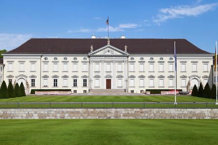 bellevue: Bellevue Palace in Berlin, Germany. Stock Photo