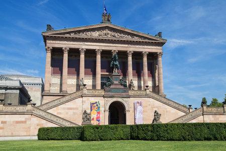 alte: Alte Nationalgalerie building in Berlin, Germany. Editorial
